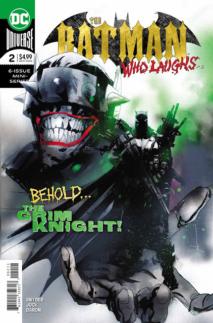 """The Batman Who Laughs"" núm. 2 de Scott Snyder."