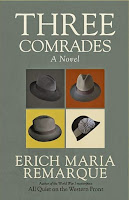 Three Comrades by Erich Maria Remarque (Book cover)