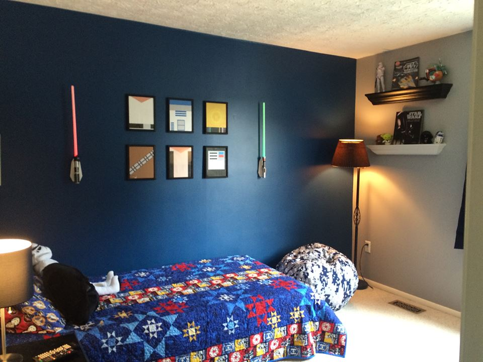 From the puck to the world.: A Star Wars Bedroom Guide