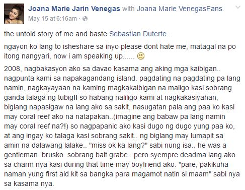 Young Woman Shared Her Untold Story With Sebastian 'Baste' Duterte And It Goes Viral!
