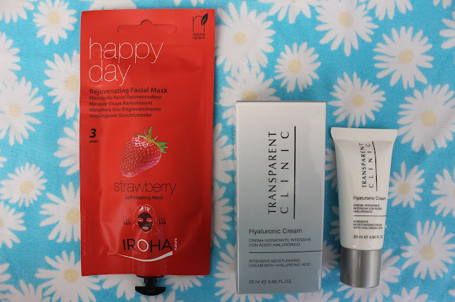 Transparent Clinic Hyaluronic cream y mascarilla happy day