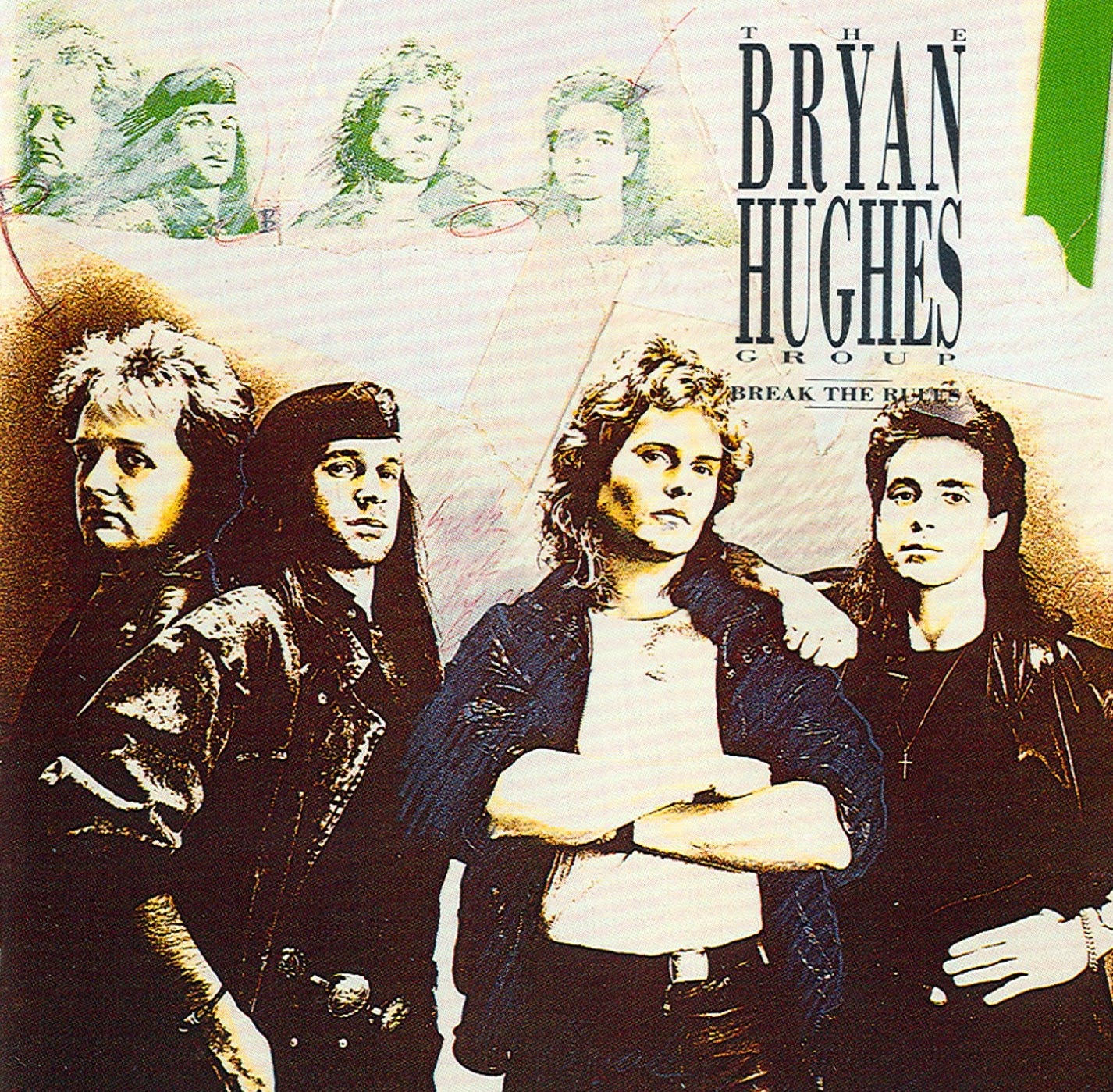 The Bryan Hughes Group Break the rules 1990 aor melodic rock