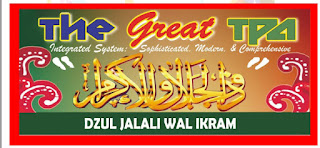 THE GREAT TPA DZUL JALALI WAL IKRAM