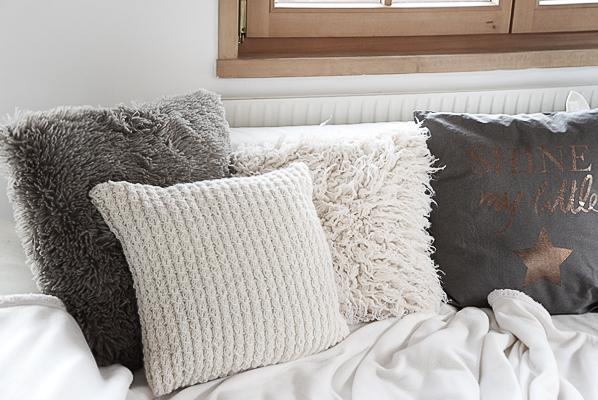 Wohnzimmerdeko für den Winter.