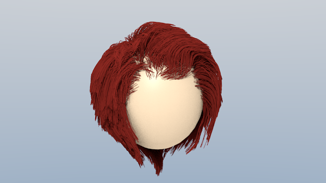 Hair in Blender