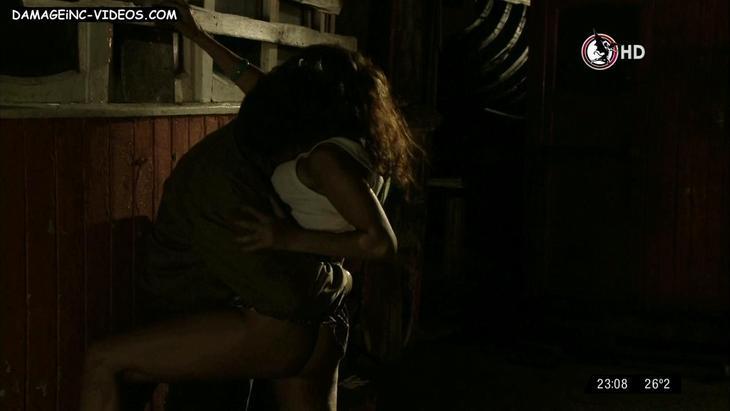 Maria Fernanda Callejon hot upskirt scene damageinc videos HD