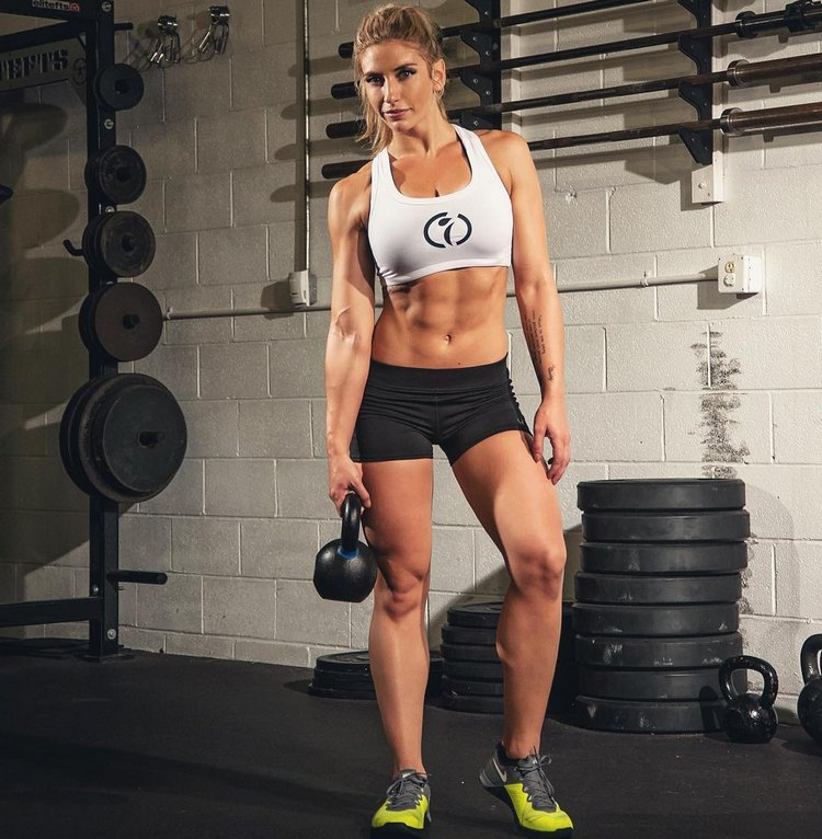 Alyssa Loughran worked hard to transform her lifestyle and physique
