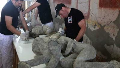arkeologi kota pompeii