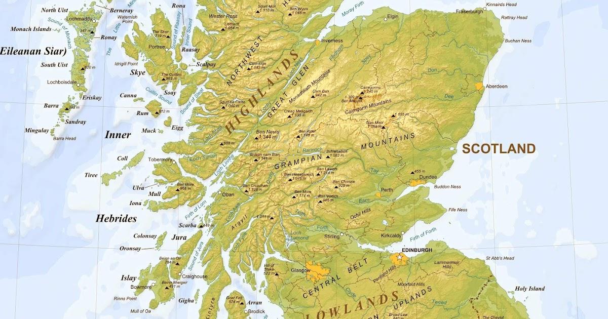 Whiskyboden Bra Karta Over Alla Destillerier Pa Skottland
