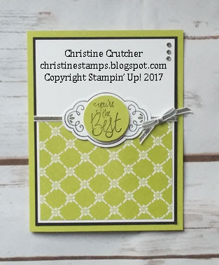 Stampin Up Label Me Pretty