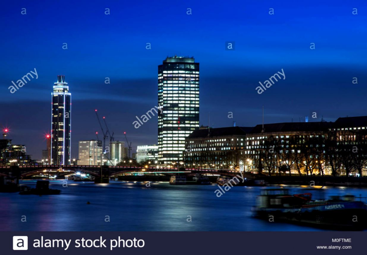 Skyline London Cityscape Westminster At Night Hd Wallpaper