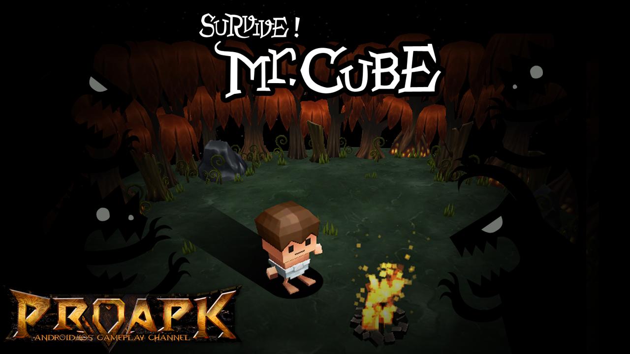 Survive Mr. CUBE!