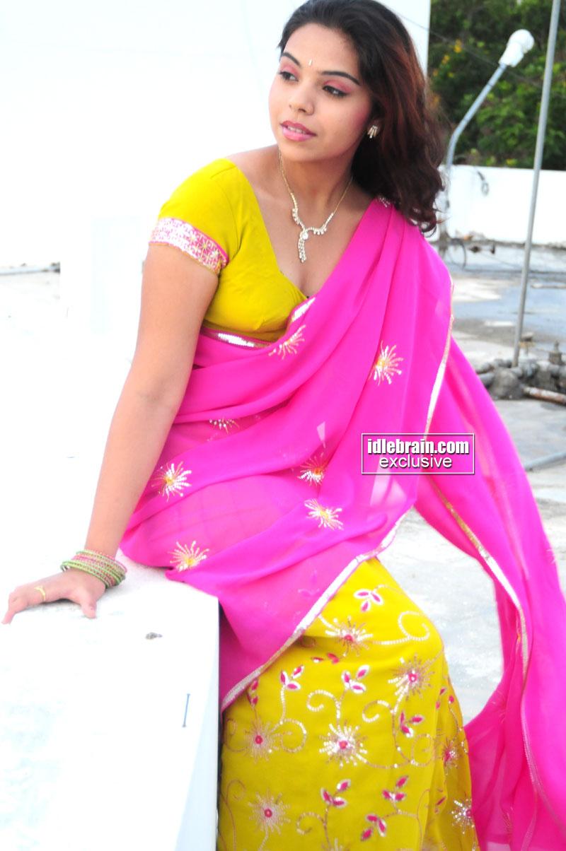 Hot Actress Images Rekha Sri In Saree Hot Photos-3275