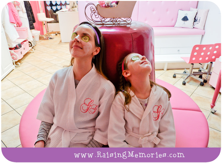 Mother Daughter Spa Date at Glama Gal Girls Spa