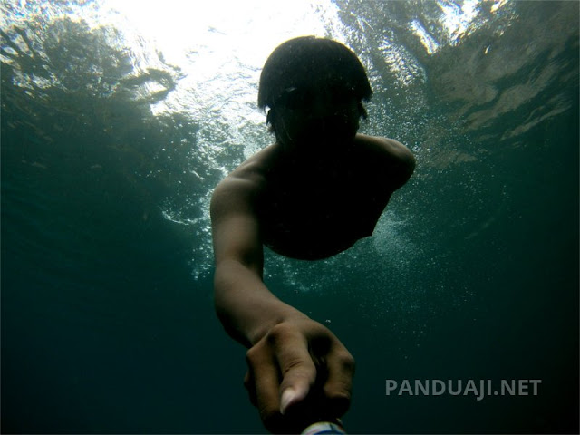 SJ5000+ underwater