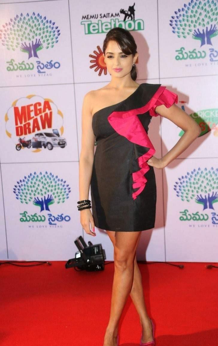 Actress Asmita Sood Stills, Asmita Sood Sexy Photos in Hot Black Dress Without sleeve