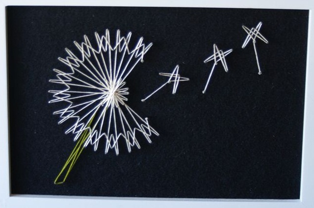 DIY String Art - Arte com corda