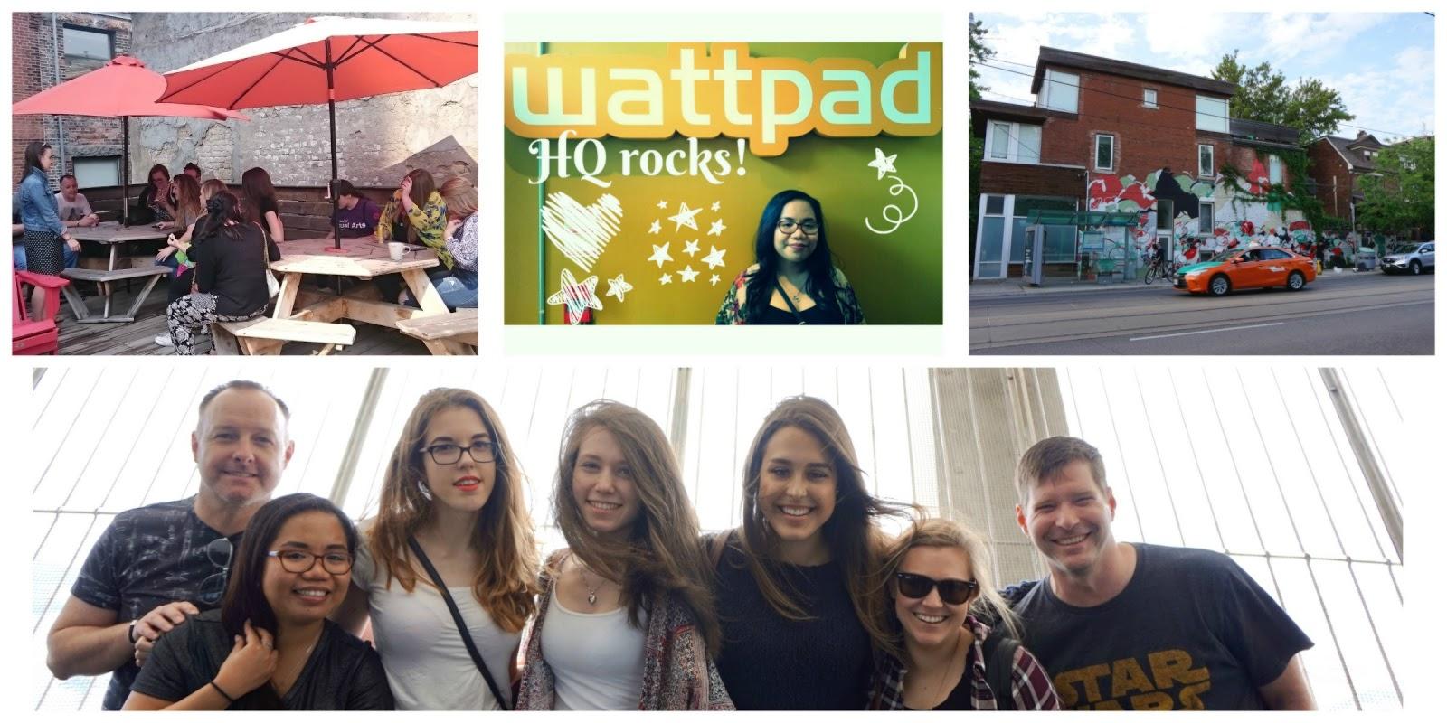 Wattpad Stars Invade the WP Headquarters | Ninya Tippett