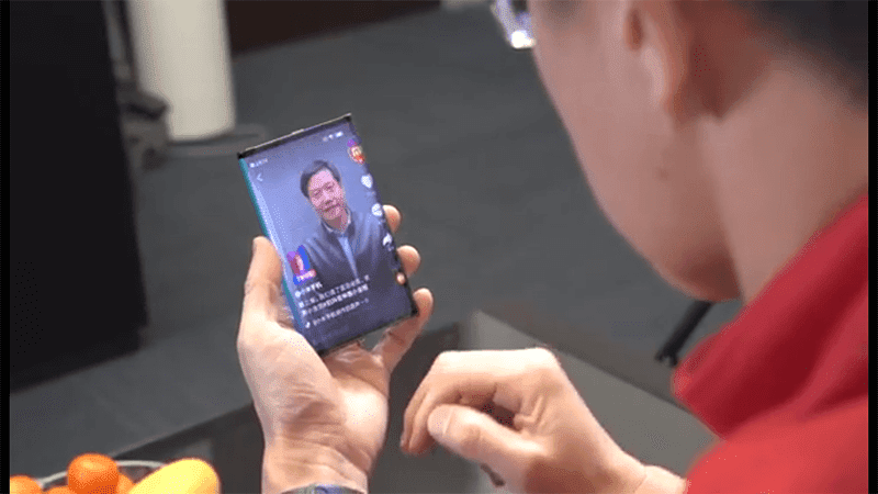 Watch: Xiaomi showcased foldable tablet/smartphone prototype!