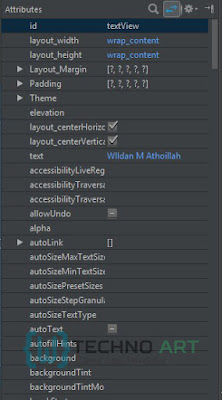 WildanTechnoArt-Atribut pada Widget TextView