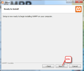 INSTALL XAMPP DI WINDOWS
