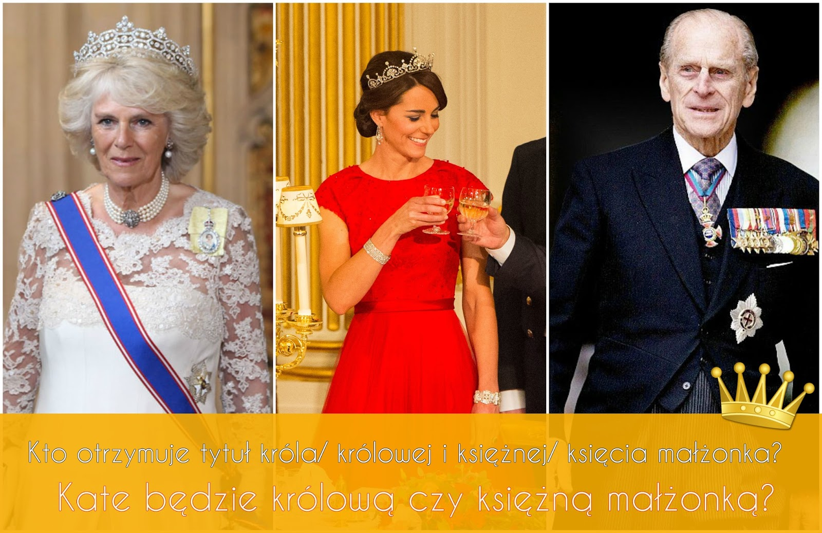 052e170056 Kto otrzymuje tytuł króla  królowej i księżnej  księcia małżonka ...