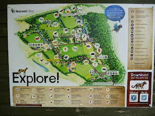 map Marwell Zoo
