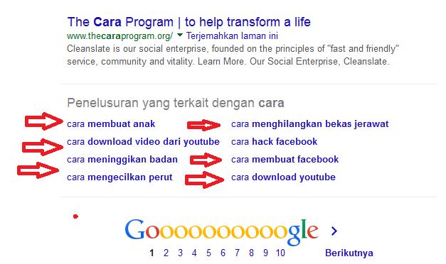 Google Suggest Keyword Tools
