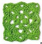 Patrón #1609: Granny a Crochet