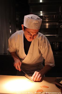 Chef Kevin Cory at NAOE