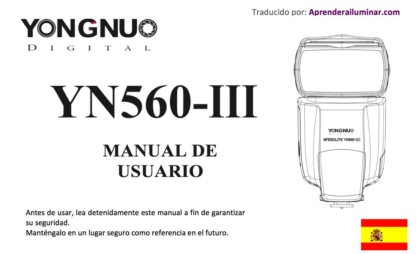YONGNUO YN560III - Español PDF