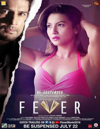Poster Of Fever 2016 Hindi 500MB HDRip 720p ESubs HEVC Watch Online Free Download downloadhub.net