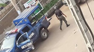 Are You Serious? Human Parts Exhumes in Front of Popular Hotel in Lagos