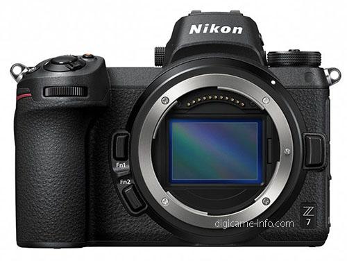 Nikon Z7, вид спереди