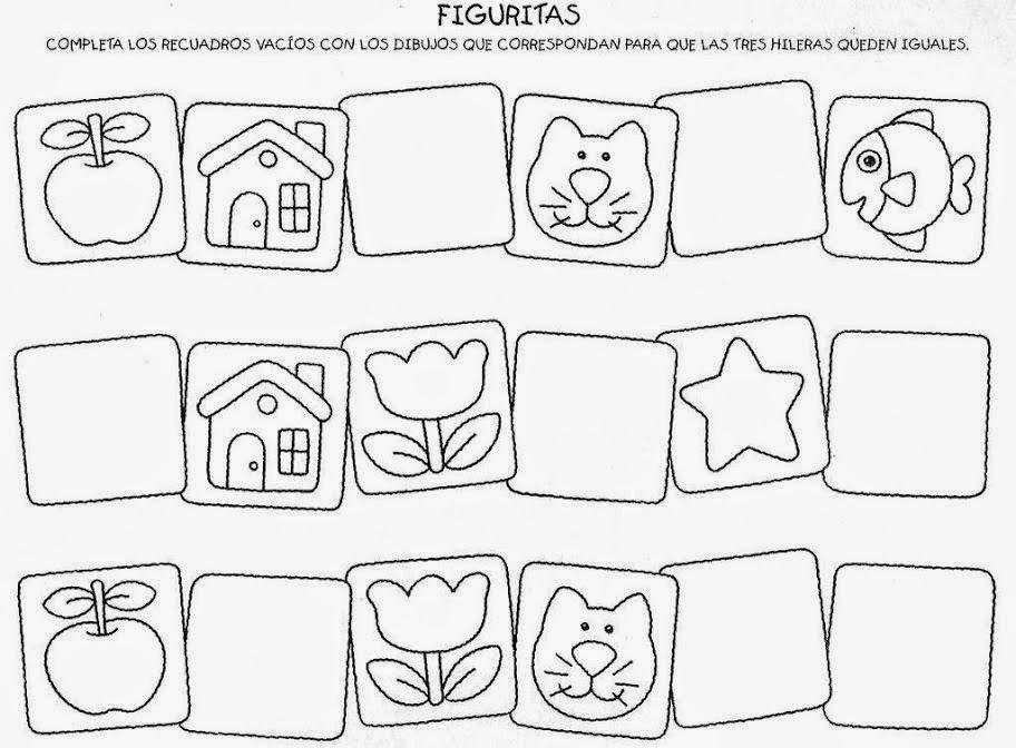 Vistoso Colorear En Patrones Para Niños Friso - Dibujos Para ...