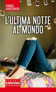 copertina L'ultima notte al mondo di Bianca Marconero