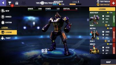 Real steel champions mod money