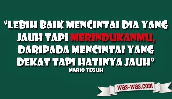 """""""Kumpulan Kata Bijak Mario Teguh Tentang Cinta"""""""