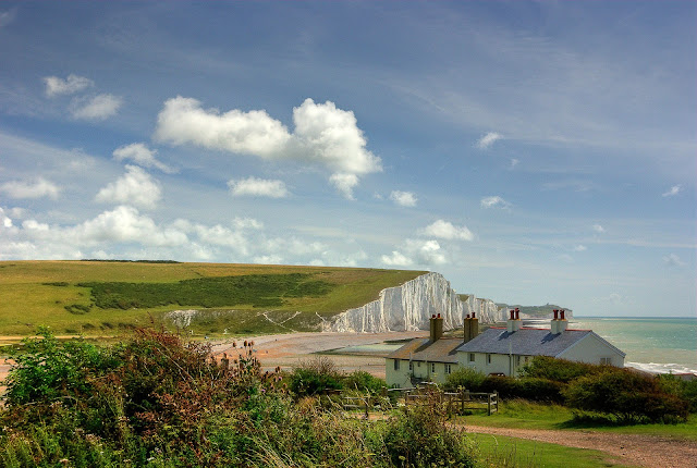 The Coastguard Cottages at Cuckmere Haven