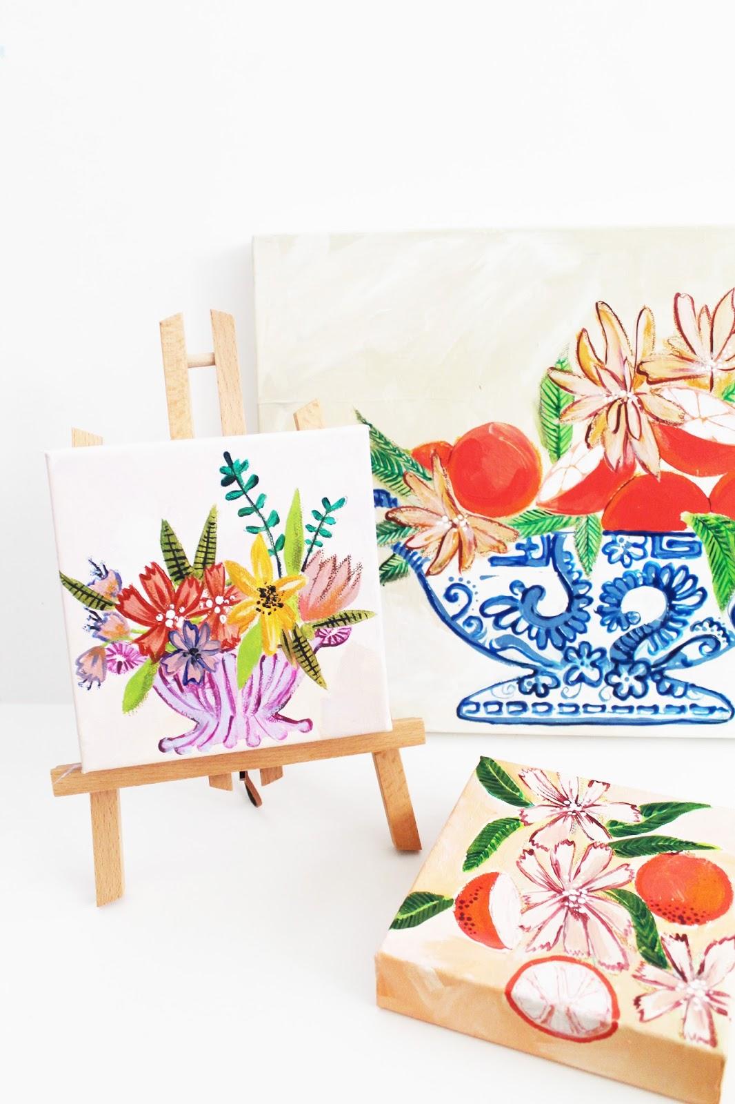 Easy Acrylic Painting Tutorial