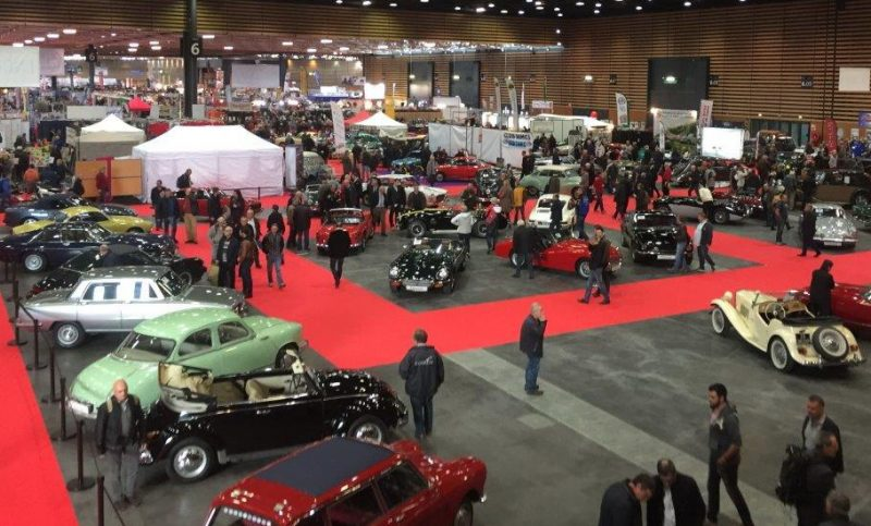 Club5a expo salon musee autos for Salon retromobile lyon