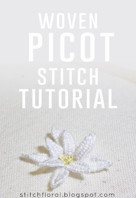 woven picot tutorial