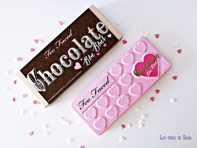 Chocolate Bon Bons Too faced makeup maquillaje eyepalette beauty regalos san valentin