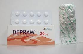 سعر ودواعي إستعمال أقراص ديبرام Depram للأكتئاب