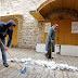 В Иерусалиме выпал снег