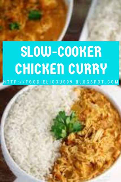 SLOW-COOKER CHICKEN CURRY- Gluten Free