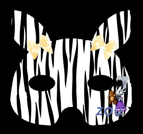 Máscaras De Zou Para Imprimir Gratis Oh My Actividades Para Niños