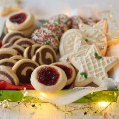 Receta para preparar galletas de azúcar navideñas y 4 variaciones