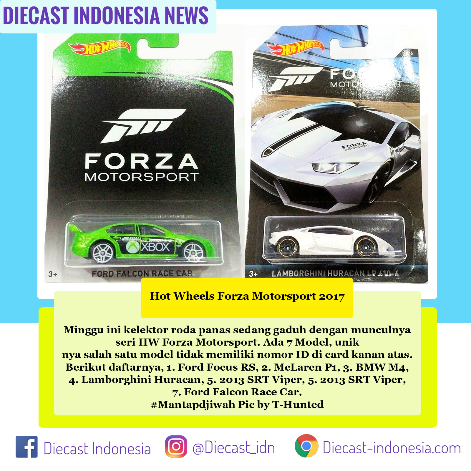 1:64 Hot Wheels Forza Motorsport XBox Ford Falcon Chase Car Rare!