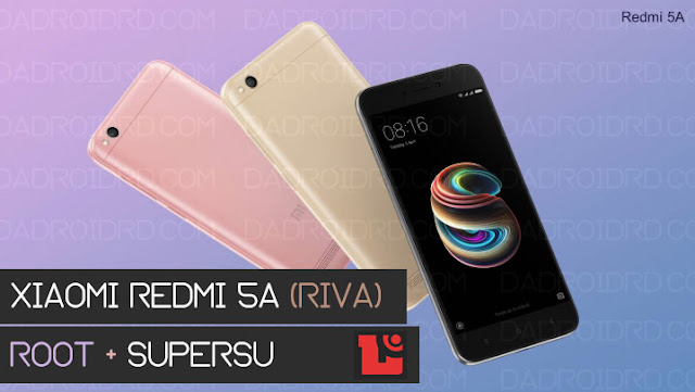 Cara mudah ROOT Xiaomi Redmi 5A Riva terbaru tanpa PC